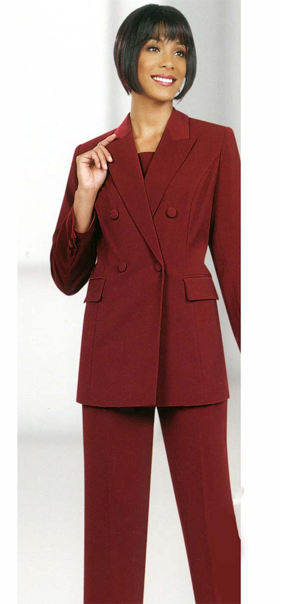 Womens Career Suits by Ben Marc Executive -10498-Burgundy ...