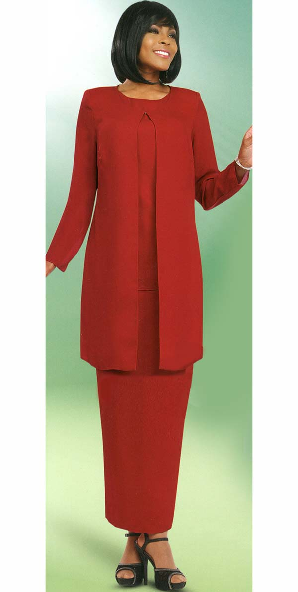 Misty Lane 13057-Red - Three Piece Choir Outfit For Women