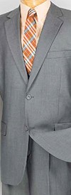 Vinci 2TR Mens Single Breasted Two Button Suit