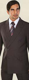 Vittorio St. Angelo C762TA Mens Two-Piece Double Breasted Church Suit
