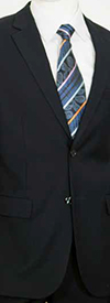 Vittorio St. Angelo C602F Mens Two-Piece Two Button Church Suit