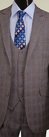 Vittorio St. Angelo H6301V Mens Suit