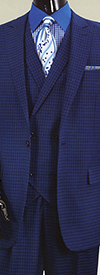 Vittorio St. Angelo H6401V Mens Suit