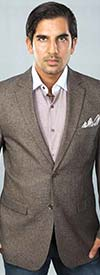 Vittorio St. Angelo CZ671 Mens Two Button Classic Fit Sport Jacket