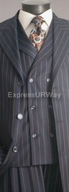 Vittorio St. Angelo H63SON Mens Suit