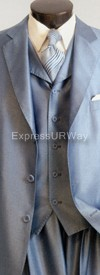 Vittorio St. Angelo SHARK1 Mens Suit