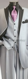 Vittorio St. Angelo SHARK5 Mens Suit
