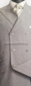 Clearance Vittorio St. Angelo HDW33 Mens Suit