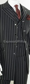 Clearance Vittorio St. Angelo HGD34V Mens Suit