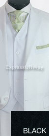 Clearance Vittorio St. Angelo T633TR Mens Suit
