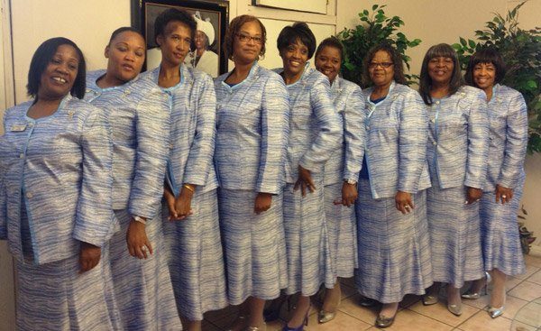 Shiloh Temple Apostolic Church Usher Board
