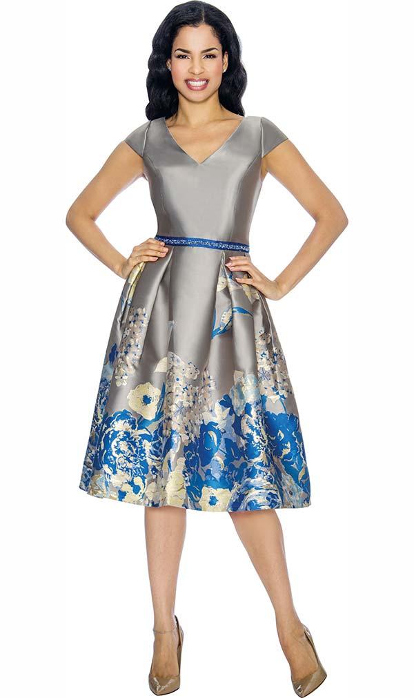 Annabelle Evening Wear 8679 Silver Fall 2018 Expressurway