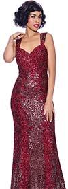 Annabelle 8740 - Sweetheart Neckline Sleeveless Floor Length Dress