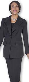 Aussie Austine 12442 Womens Peak Lapel Classic Usher Suits