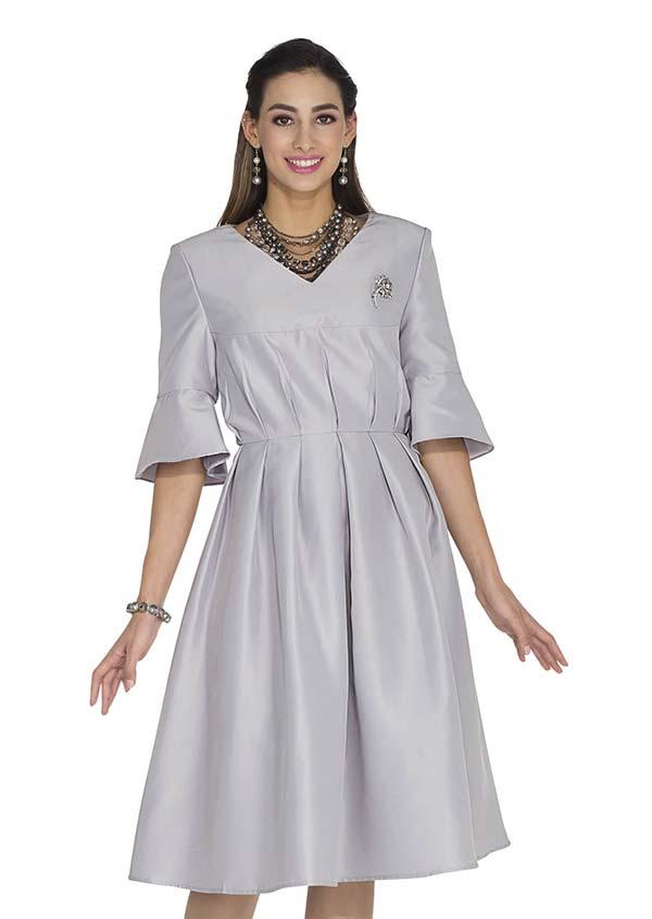 Aussie Austine 1031 Twill Satin Pleated Dress