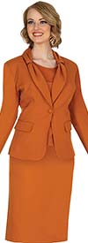Aussie Austine 837 Pant & Skirt Wardrober Set With Tied Shawl Lapel Jacket