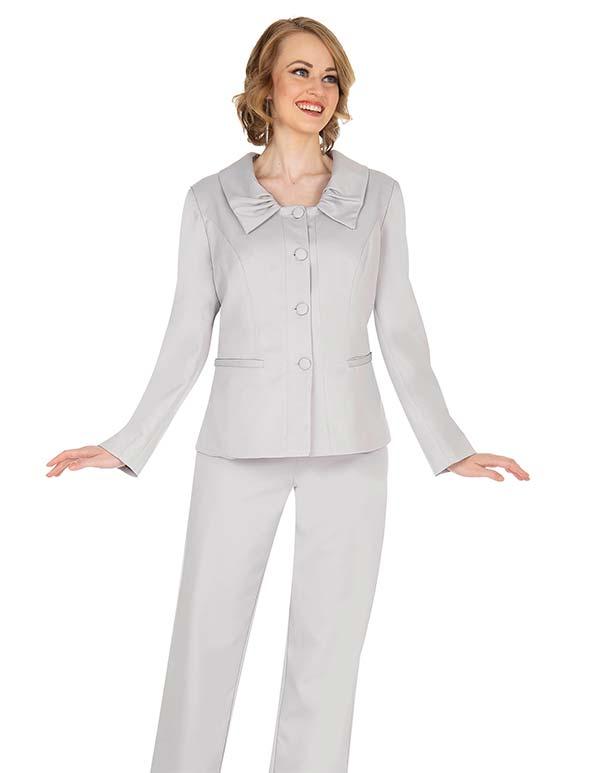 Aussie Austine 843 Pant & Skirt Wardrober Set With Pleated Collar Jacket