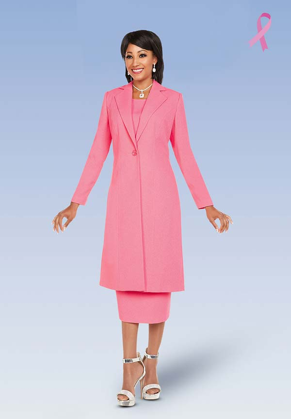 Ben Marc Executive 11698 Womens Business Skirt Suit With Long Jacket
