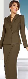 Ben Marc Executive 11702 Womens Skirt Suit With Asymmetric Details
