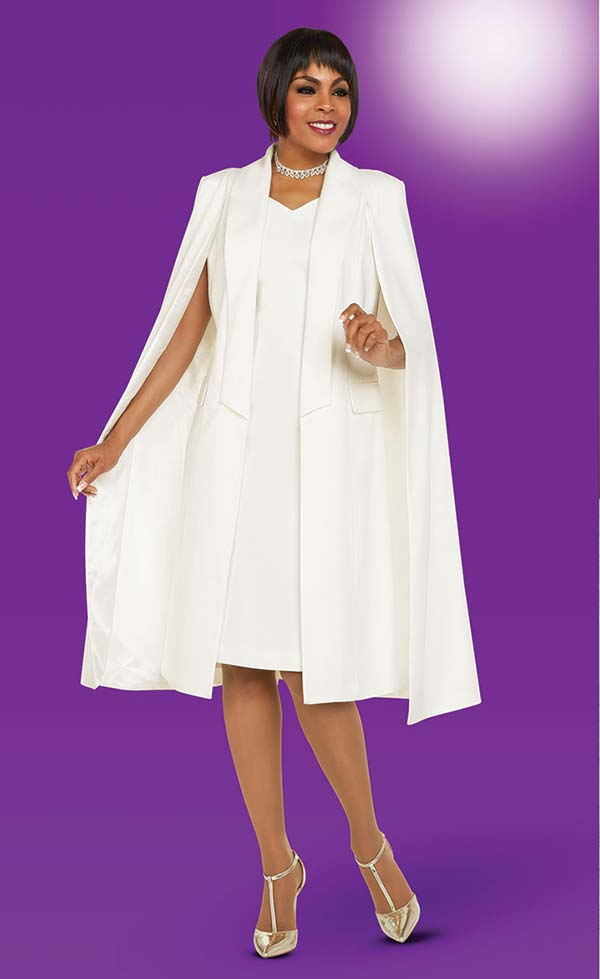 Ben Marc Executive 11706 Womens Dress Suit With Long Cape Style Jacket