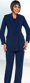 Ben Marc Executive 11711 Double Breasted Peak Lapel Womens Business Suit
