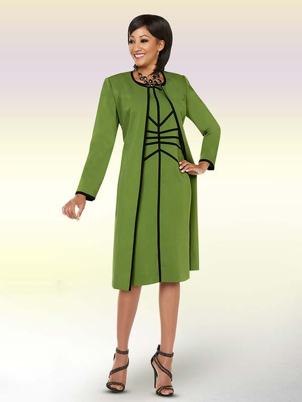 Ben Marc Executive 11722 Business Suit Dress With Long Jacket