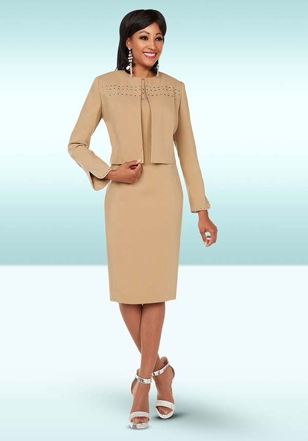 Ben Marc Executive 11738 Womens Dress Suit With Embellishments