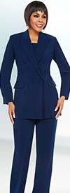 Ben Marc Executive 11711 Double Breasted Peak Lapel Womens Business Suit