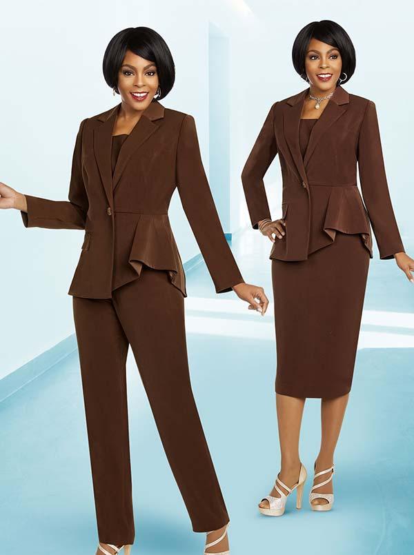 Ben Marc Executive 11823 Womens Weekender Suit Set With Notch Lapel Jacket