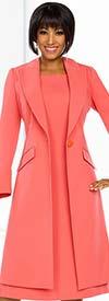 Ben Marc Executive 11752 Womens Business Dress & Long Jacket