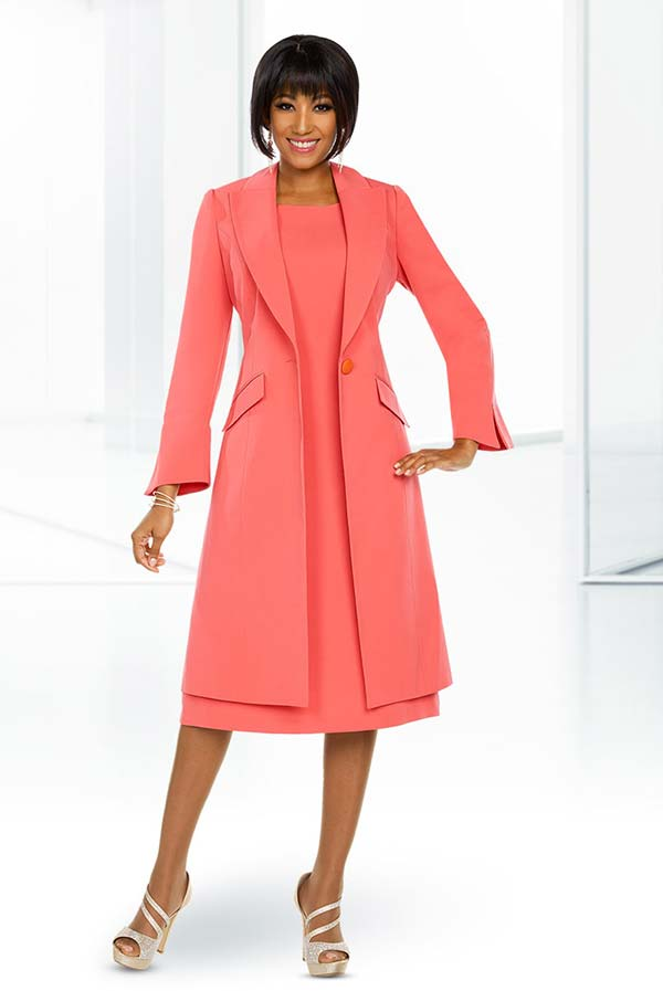 Ben Marc Executive 11752 Womens Business Dress & Long Jacket