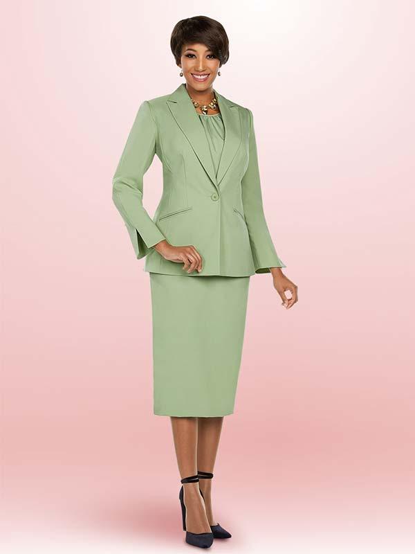 Ben Marc Executive 11756 Womens Business Suit With Notch Lapels