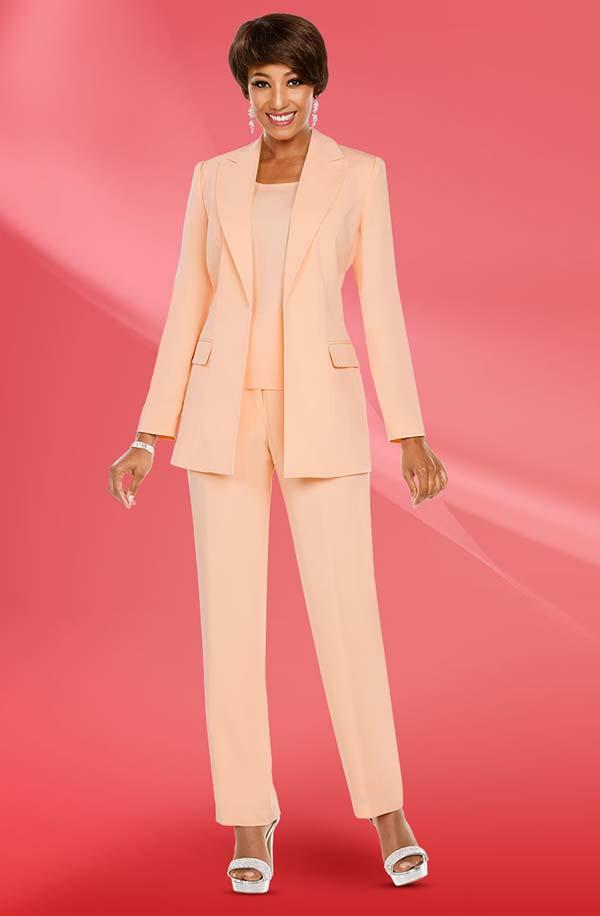 Ben Marc Executive 11769 Womens Basic Pant Suit With Notch Lapel Jacket