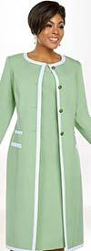Ben Marc Executive 11777 Dress Suit With Stripe Trimmed Jacket