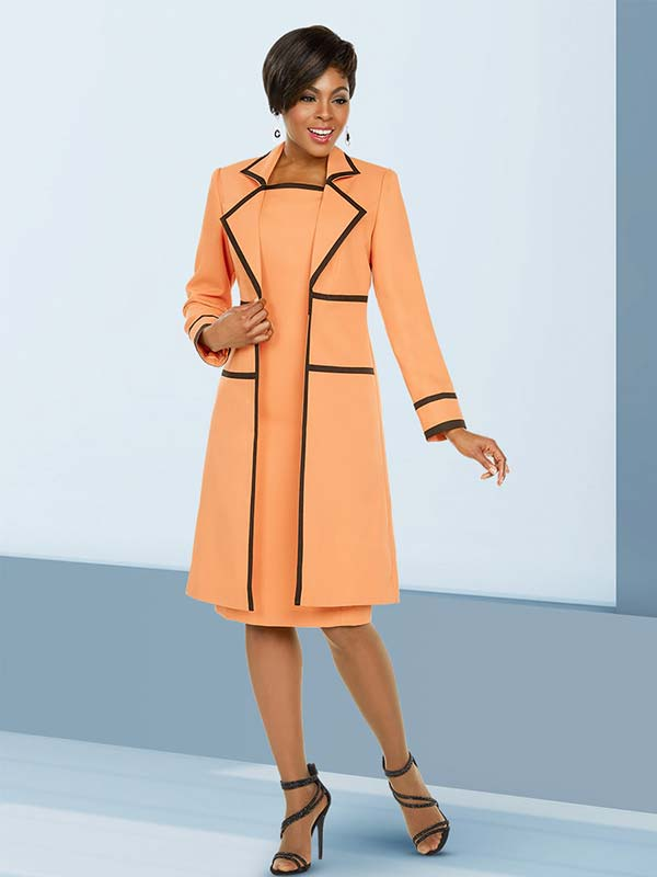 Ben Marc Executive 11779 Business Dress Suit With Stripe Accents