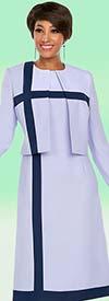Ben Marc Executive 11780 Business Dress Suit With Stripe Design