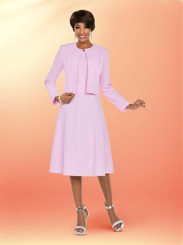 Ben Marc Executive 11783 Flared Dress Set With Jewel Neckline