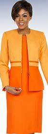 Ben Marc Executive 11796 Jewel Neckline Dress Set With Two Tone Jacket