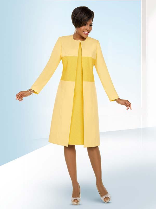Ben Marc Executive 11797 Jewel Neckline Dress Set With Long Dual Tone Jacket