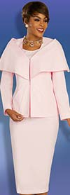 Ben Marc Executive 11873 - Three Piece Skirt Suit With Over Shoulder Detail