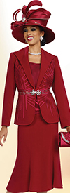 Ben Marc Specials 47997 Flared Skirt Suit Ensemble In A Box Wlth Wide Lapel Design