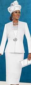Ben Marc Specials 48053 Skirt Suit Ensemble In A Box Wlth Embellished Trim