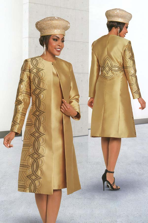 Ben Marc 48162 Womens Church Dress With Long Jacket