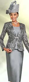 Ben Marc 48165 Womens Church Suit With Lace Jacket Design