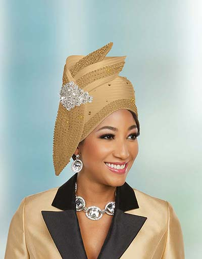 Ben Marc 48236H Embellished Church Hat