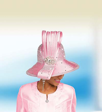 Ben Marc Hat 48244H Womens Church Hat With Bow