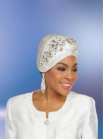 Ben Marc 48247H Womens Hat With Rhinestone Embellishments