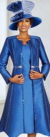 Ben Marc 48329 Church Dress With Embellished Design Flared Duster Jacket