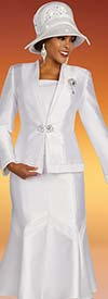 Ben Marc 48349 Womens Church Suit With Flared Skirt