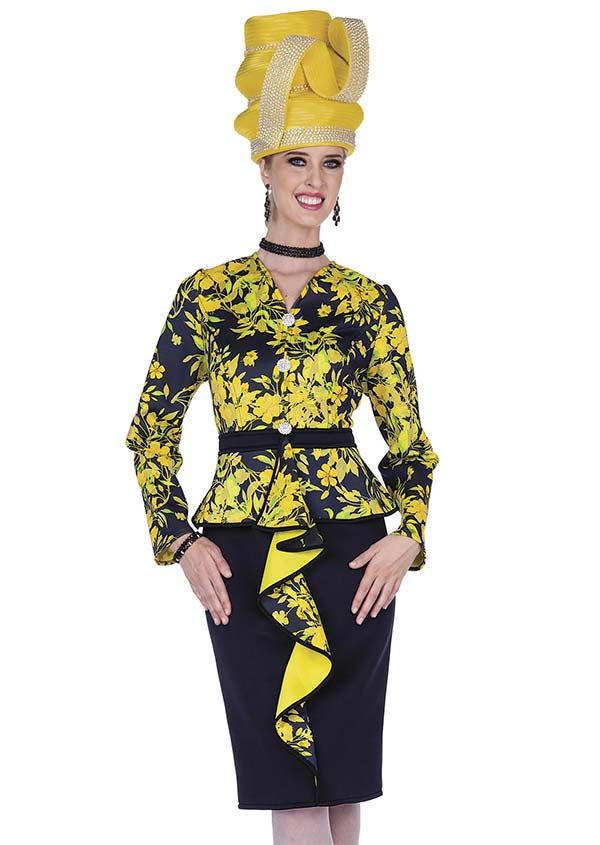 Champagne 5303 Scuba & Special Poly Fabric Design Dress Set With Printed Jacket